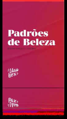 Capa e-book Padrões de Beleza