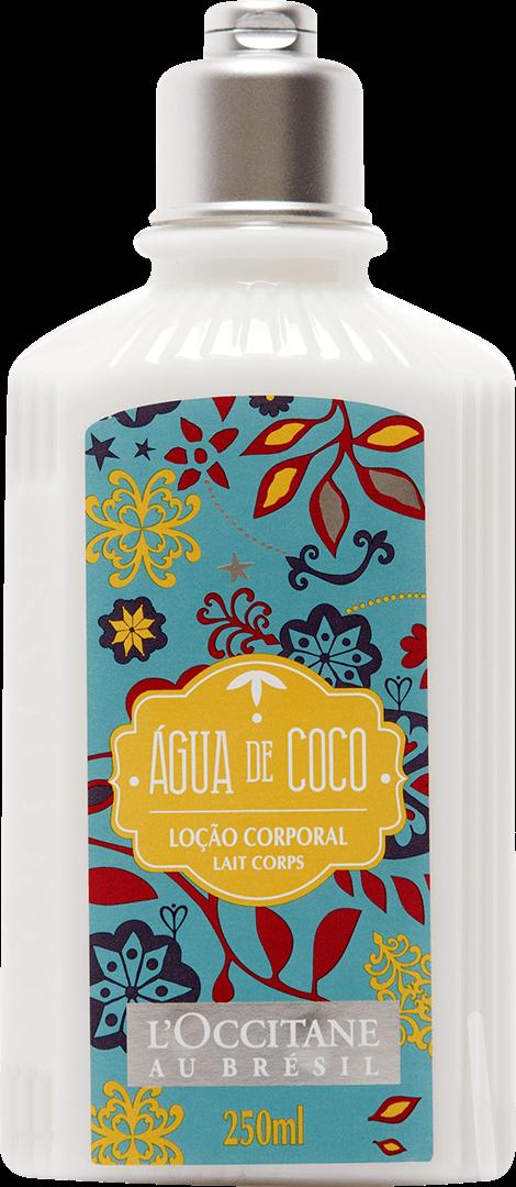 Loção Desodorante Corporal Água De Coco, L'Occitane au Brésil - 250 ml