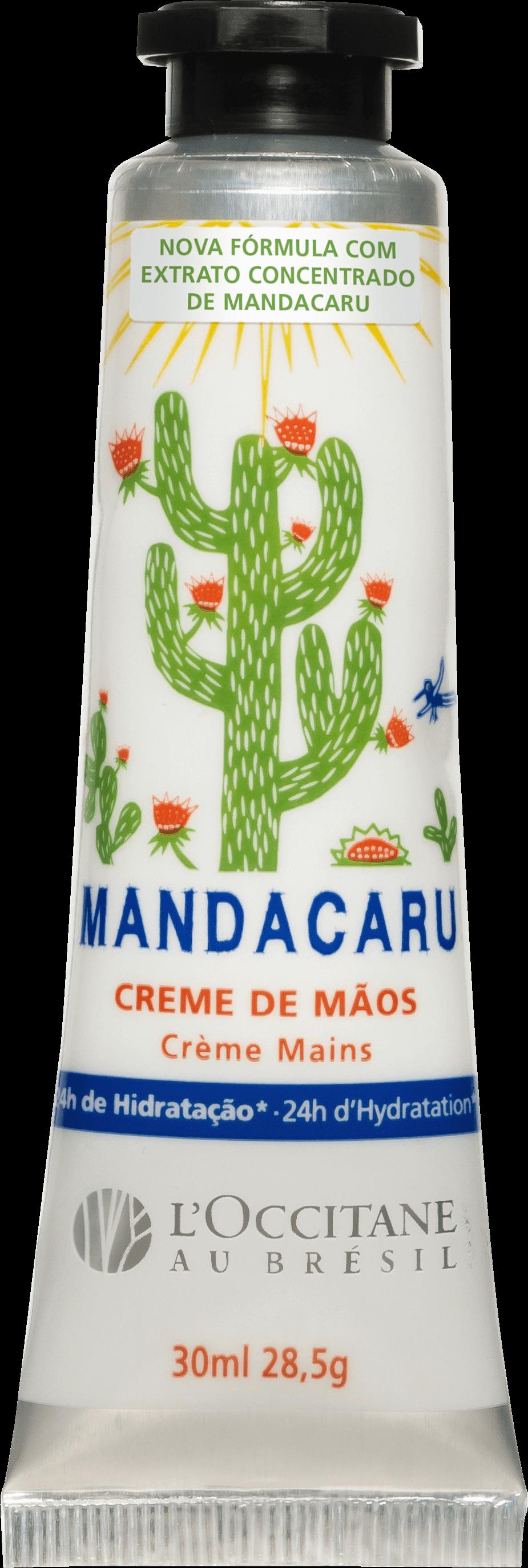 Creme De Mãos Mandacaru, L'Occitane au Brésil - 30 ml